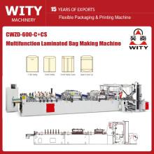 CWZD-C+CS Multifunctional 3 side sealing bag making machine