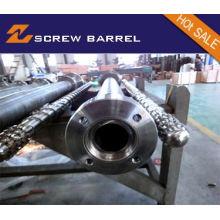 Tornillo de barril para Extrusora Máquina PE Extrusión de película