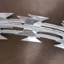 BTO-22 Hot-dip Galvanized Concertina Razor Wire