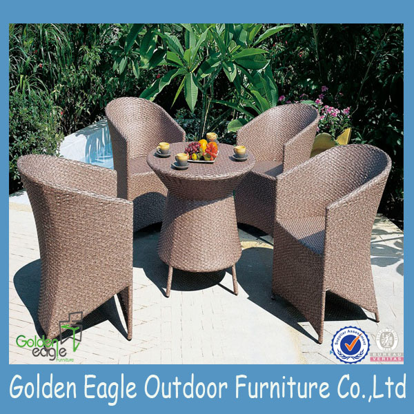 round rattan outdoor furniture