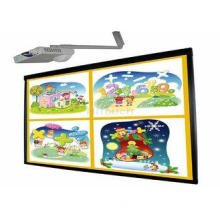 90 inch finger multi touch electronic interactive whiteboar