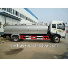 12000L FAW 4x2 tanque de leche, camión cisterna de entrega de leche