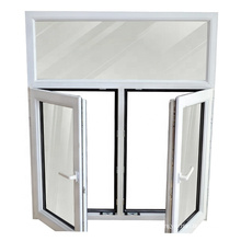 WANJIA High Performance Double Glazed Window PVC Casement Window UPVC Casement Window