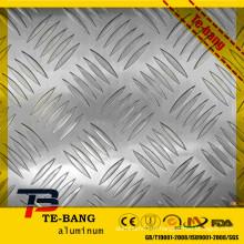 Plate-forme en aluminium de remorquage en aluminium usé