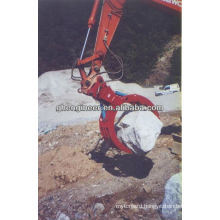 hydraulic wood grapple