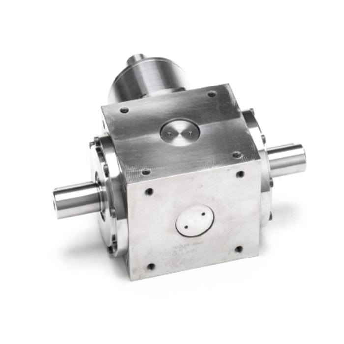 Custom Steel Right Angle Sprial Bevel Gear Box