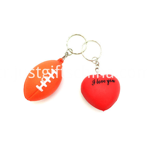 Promotional Stress Balls Key Chain