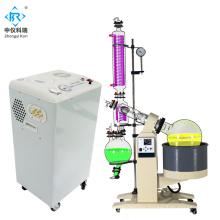 KRE6010 Lab Vacuum steam rotary evaporation for distillation