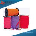 Usine personnalise la caractéristique élevée de ténacité multifonctionnelle qui respecte l'environnement de haute qualité coton chevrons tricoté tublur cordon