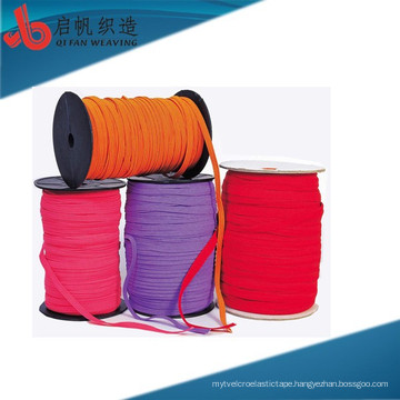 Factory Customizes High Tenacity Feature Multipurpose Eco-friendly High Quality cotton herringbone knitted tublur draw cord