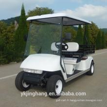 nourriture 3kw chariot de chargement électrique de golf pour le transport