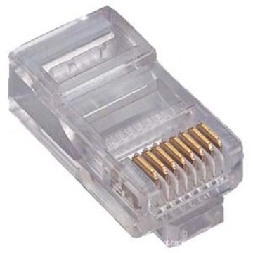 Cat.5e UTP RJ45 8P8C Conector macho com preço barato