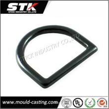 Высокое качество цинковых сплавов Die Casting D-Ring пряжки (STK-14-Z0078)