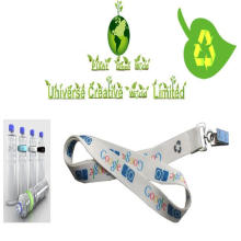 Sublimering Tryckta Eco Friendly Lanyards