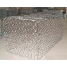 PVC Coated/Galvanized Gabion Box (factory)