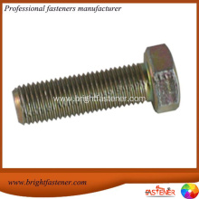 Best Quality for DIN 6914 Structural Bolts High Quality Full Thread Hex Bolts DIN933 export to Bulgaria Importers