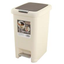 Plastic Slow Down Schließen Abfalleimer (FF-1017)