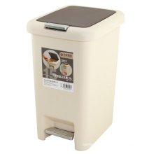 Plástico Slow Down Close Waste Bin (FF-1017)