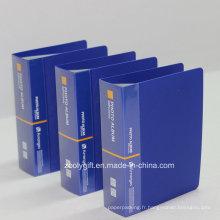 Personnaliser l'impression du logo 60 Pockets Plastic PP Albums photos