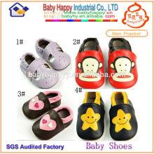 Nuevos zapatos de bebé del precio competitivo de la calidad mejor