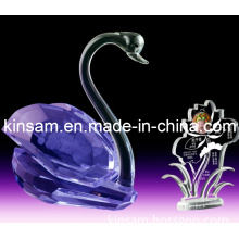 Purple Crystal Glass Figurines and Crystal Beaded Animals for Wedding Gifts (KS03027)