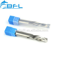BFL CNC-Fräser Hartmetall 2-Nuten-Spiralstirnfräser