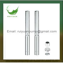 4 pulgadas 2200W 3HP cobre alambre profundo pozo sumergible bomba de agua acero inoxidable Hacoc (4SP3 / 33-2.2KW)