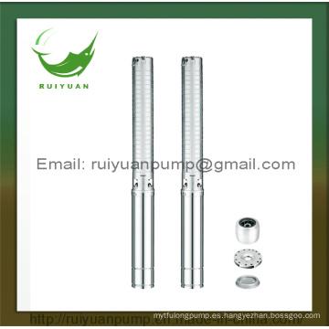 Bomba de agua sumergible de agua profunda de varias etapas, 0.54KW 0.75HP, 4 pulgadas (4SP5 / 6-550W)