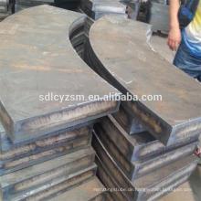 Legierter Stahlplattenzuschnitt