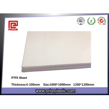 Natural Color PTFE Teflon Sheet Manufacturer