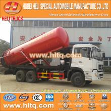NEW DONGFENG DFL 6x4 20000L vacuum pump truck with vacuum pump CUMMINS C260 33 260hp