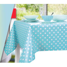 Paño de mesa de la decoración del partido del PVC impermeable del diseño del punto