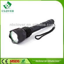 Aeroespacial grade alumínio de alta potência recarregável lanterna led