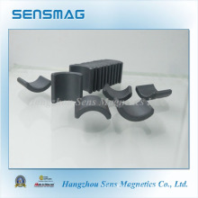 Permanent Ferrite Magnet in Arc Shape Used in Motor
