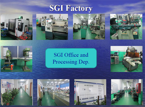 Aluminum Fabrication Machine SGI Factory