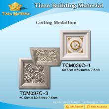 Top Class Decorative PU Ceiling Tiles Interior With Fine Workmanship