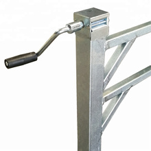 Adjustable Heavy Duty Jack Stand for Canopy Use