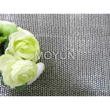 """POLY KNITTING WITH 7MM PRINT SEQUIN EMBD 50/52"""""""