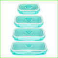Silicone de grau alimentício Kids Lunch Box Sets