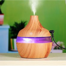 300ml Wood Grain USB Charging Essential Oil Diffuser