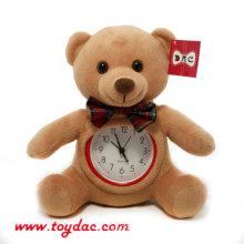 Плюшевые медвежьи часы