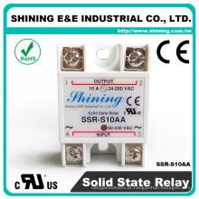 SSR-S10AA série AC 24 volts SSR 10A tipos de preços de relés elétricos