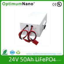 Solar Lighting 24V 50ah Lithium Battery