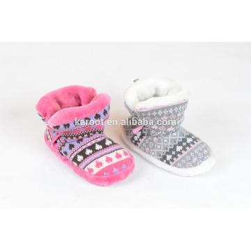 warm terry cloth slipper women winter boots plush slippers