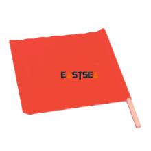 Fabrique dans le tissu orange de PVC de modèle de drapeau de main de contrôle de sécurité de la Chine