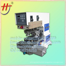 Hot sales 2 color ink cup automatic tampon printing machine