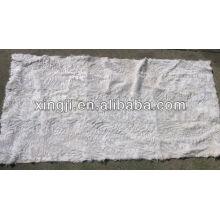 plaque de fourrure d'agneau tianjin de couleur blanche de qualité supérieure