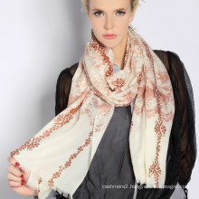 Water Soluble Wool Scarf (12-BR302302-2.1)