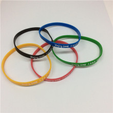 Colourful Sport Custom Logo Silicon Wrist Bands