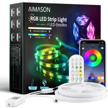 Outdoor Flexible 3528 5050 SMD 100M Waterproof Wifi Smart RGB Led Strip Led Strip Lights Led Light Strip With APP Controlled